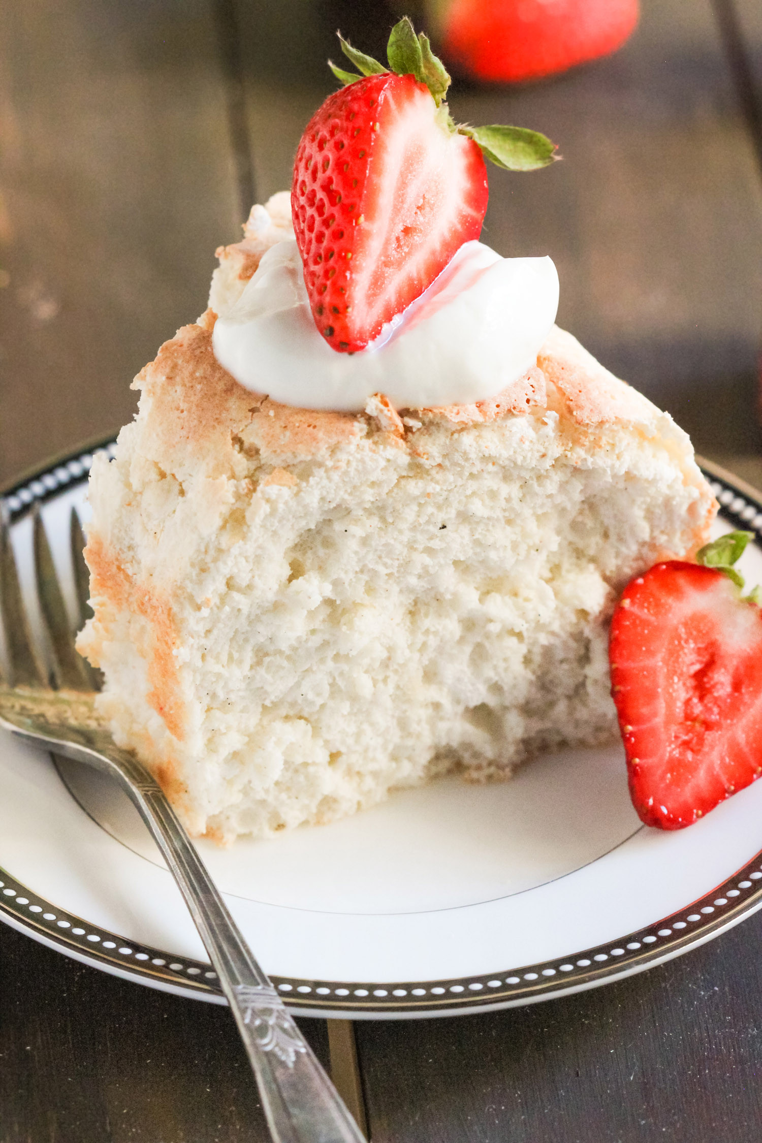 Angel Food Cake  Healthy Angel Food Cake Recipe