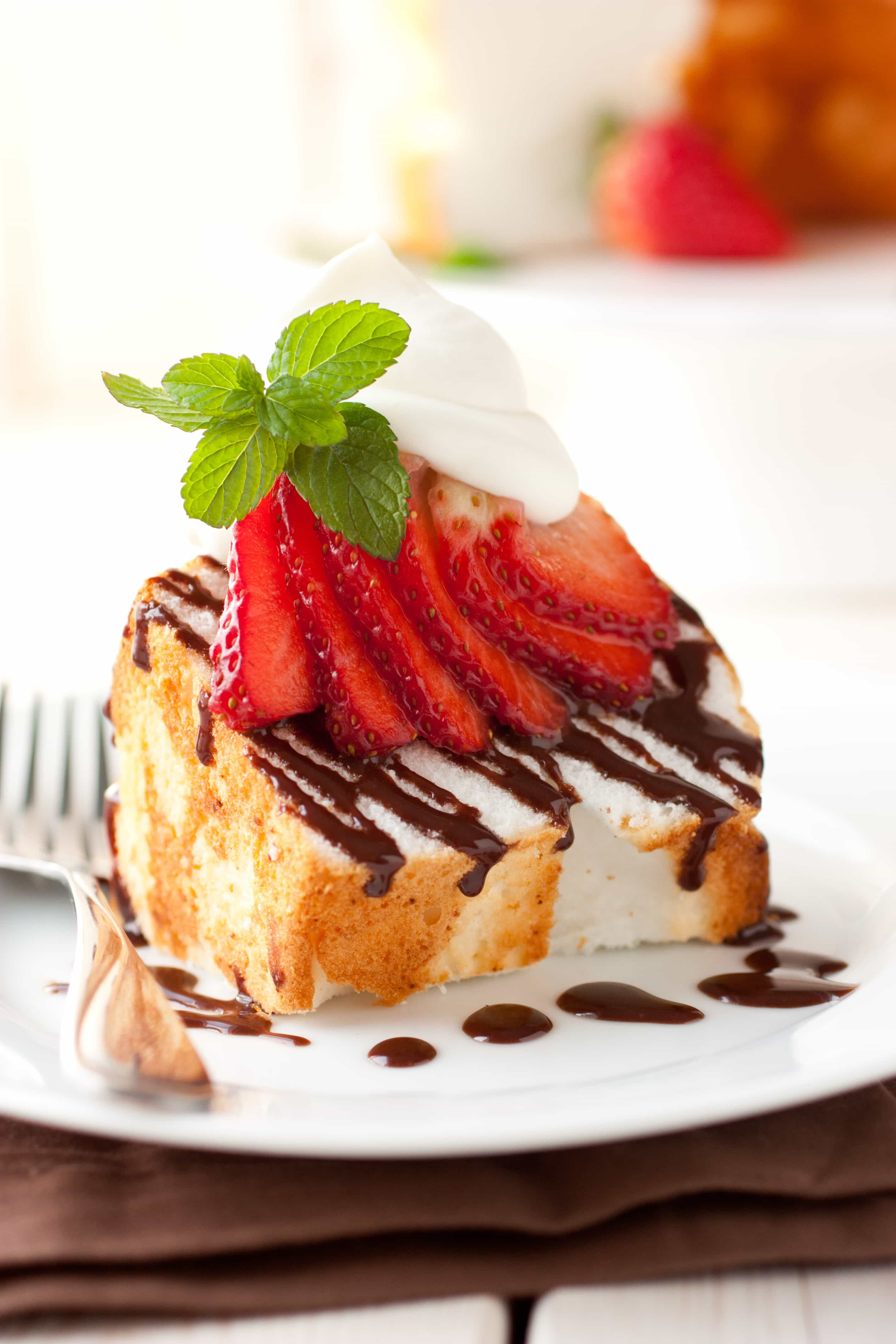 Angel Food Cake Toppings  angel food cake toppings