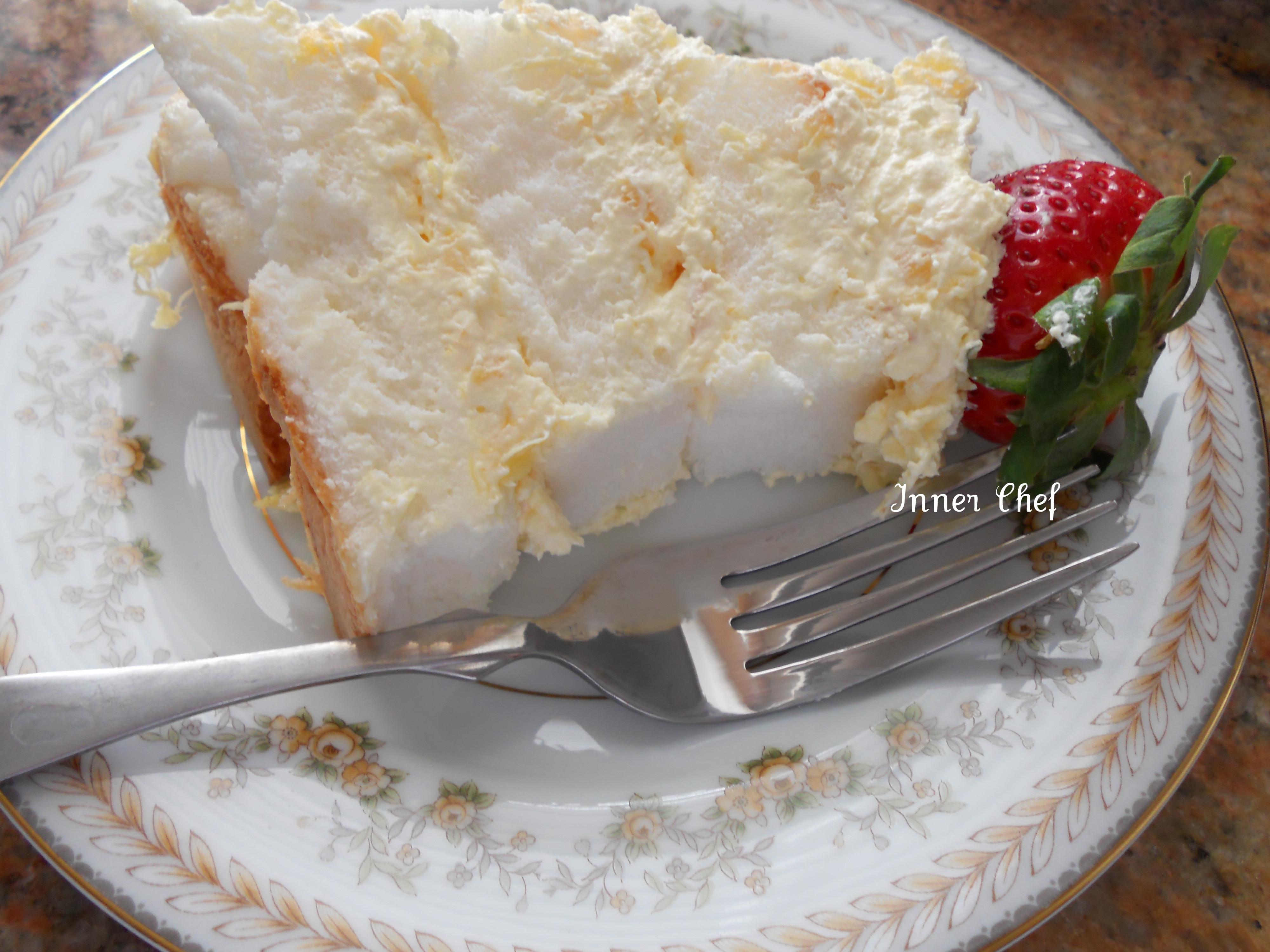 Angel Food Cake Toppings  Pineapple Angel Food Cake