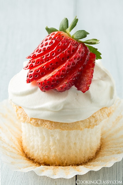 Angel Food Cupcakes  10 Amazing Cupcake Recipes Classy Clutter