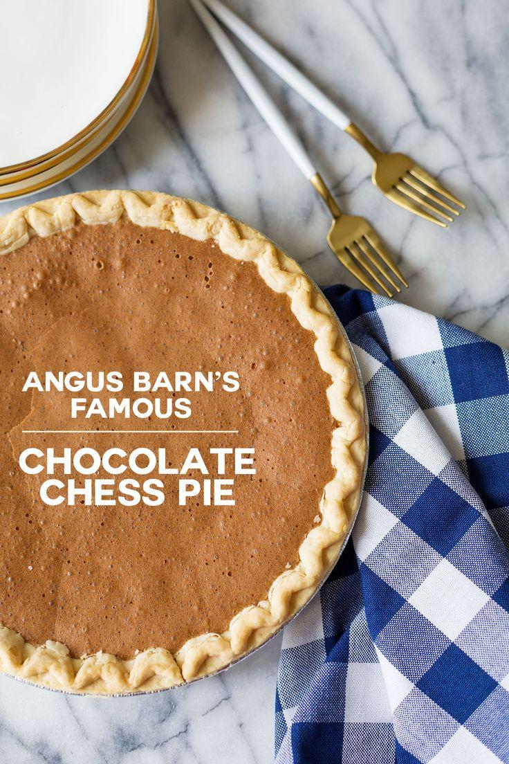 Angus Barn Chocolate Chess Pie  2814 best Love Love Love images on Pinterest
