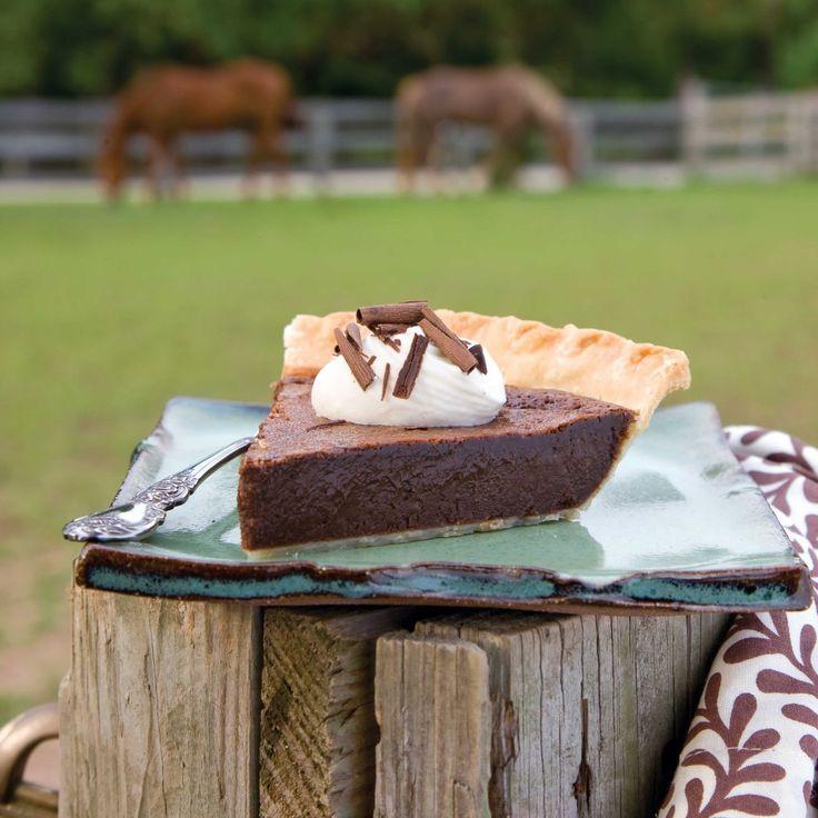 Angus Barn Chocolate Chess Pie  Chocolate Chess Pie Recipe