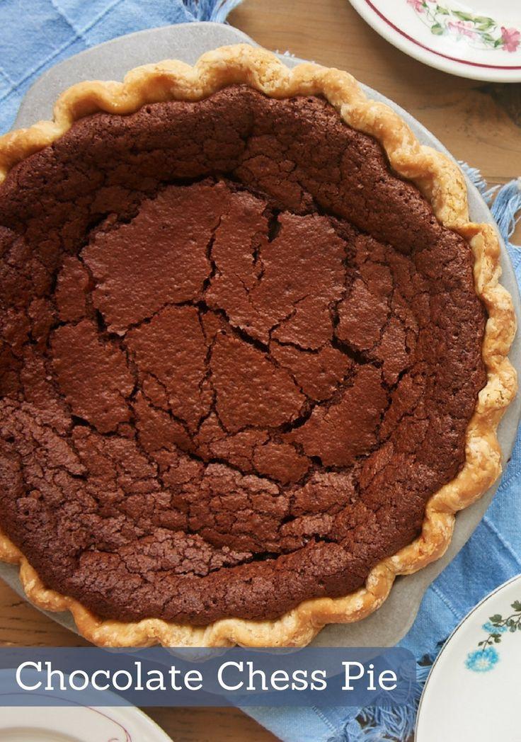 Angus Barn Chocolate Chess Pie  Chocolate chess pie ile ilgili Pinterest teki en iyi 25