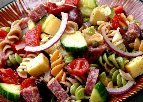 Antipasto Salad Recipes  antipasto pasta salad
