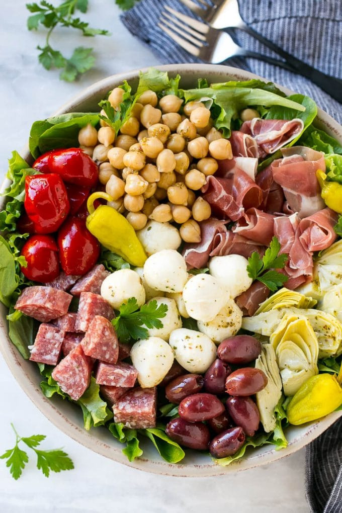 Antipasto Salad Recipes  Antipasto Salad Dinner at the Zoo