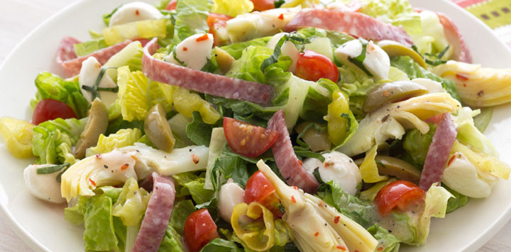 Antipasto Salad Recipes  Antipasto Salad with Italian Dressing