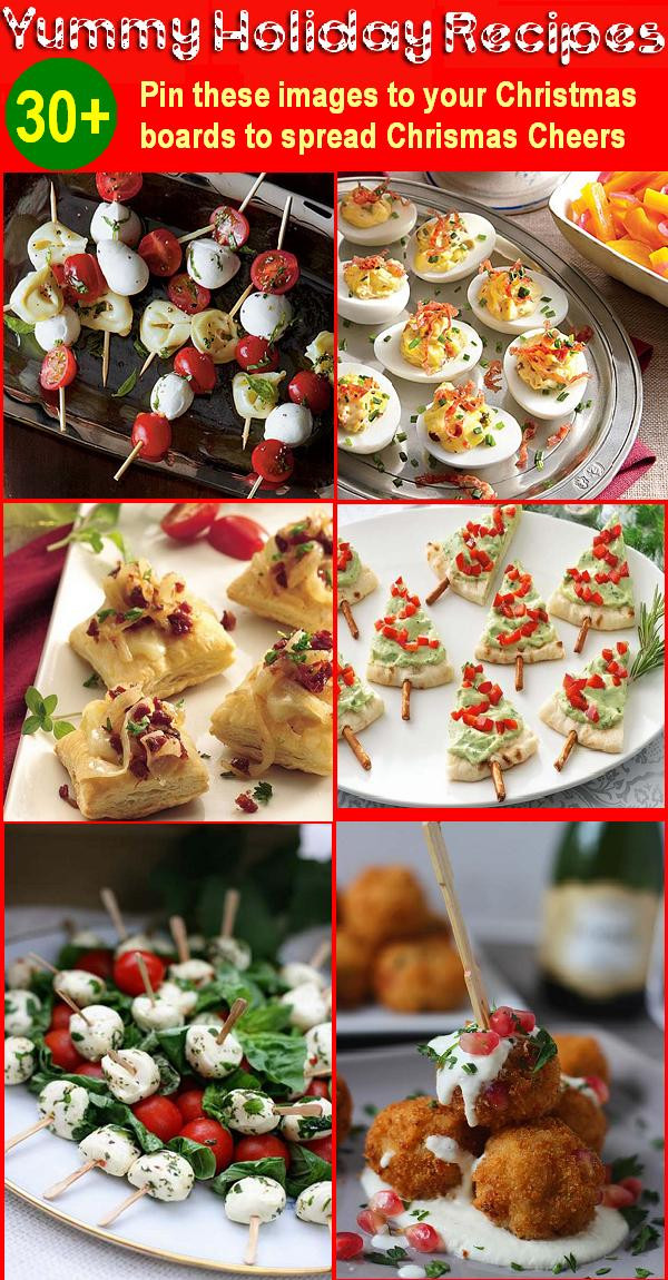 Appetizers For Christmas  30 Holiday Appetizers Recipes for Christmas and New Year