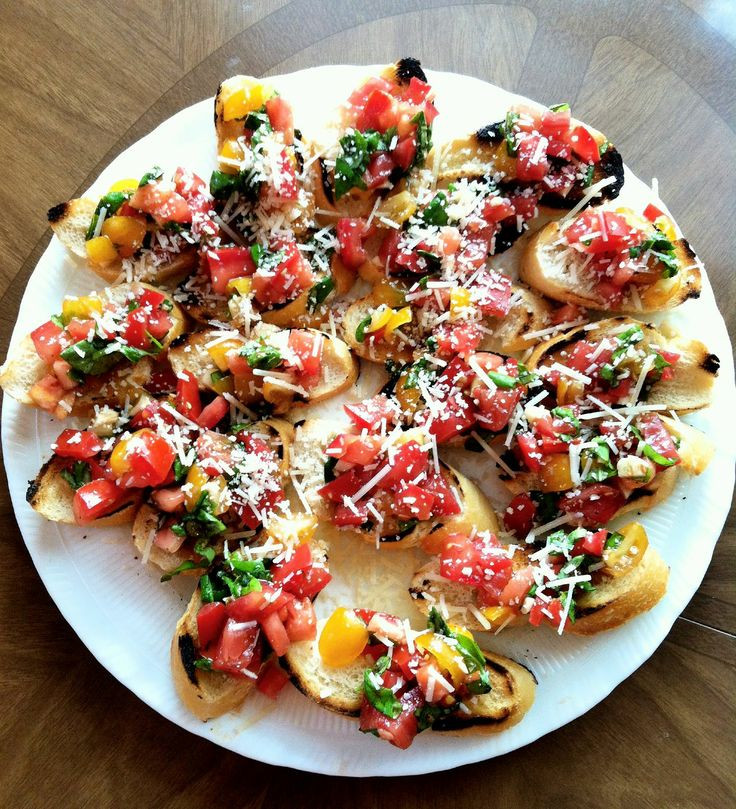 Appetizers For Italian Dinner  39 best images about Italian dinner party on Pinterest