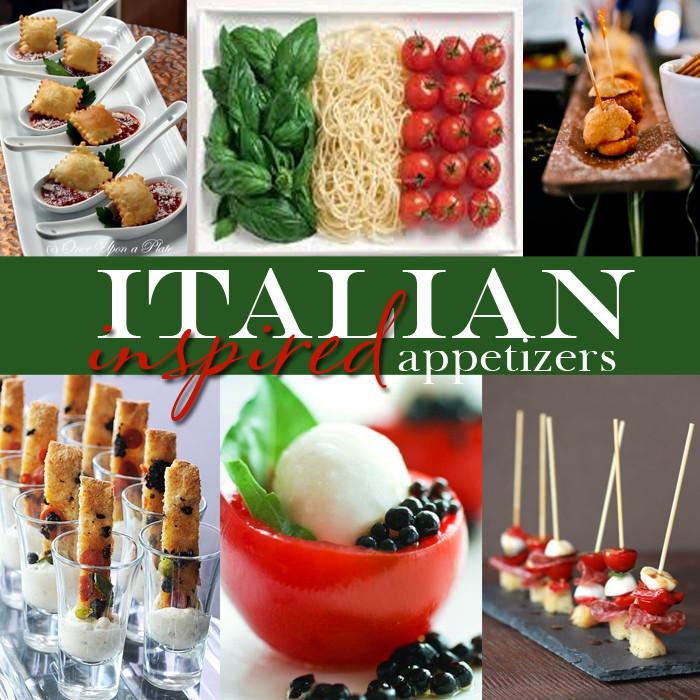 Appetizers For Italian Dinner  Yummy Monday Italian Inspired Wedding Appetizers — Dinner