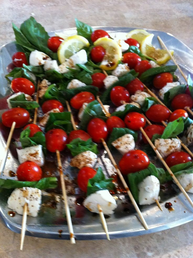 Appetizers For Italian Dinner  51 best images about Tuscany Party Food and Decor on