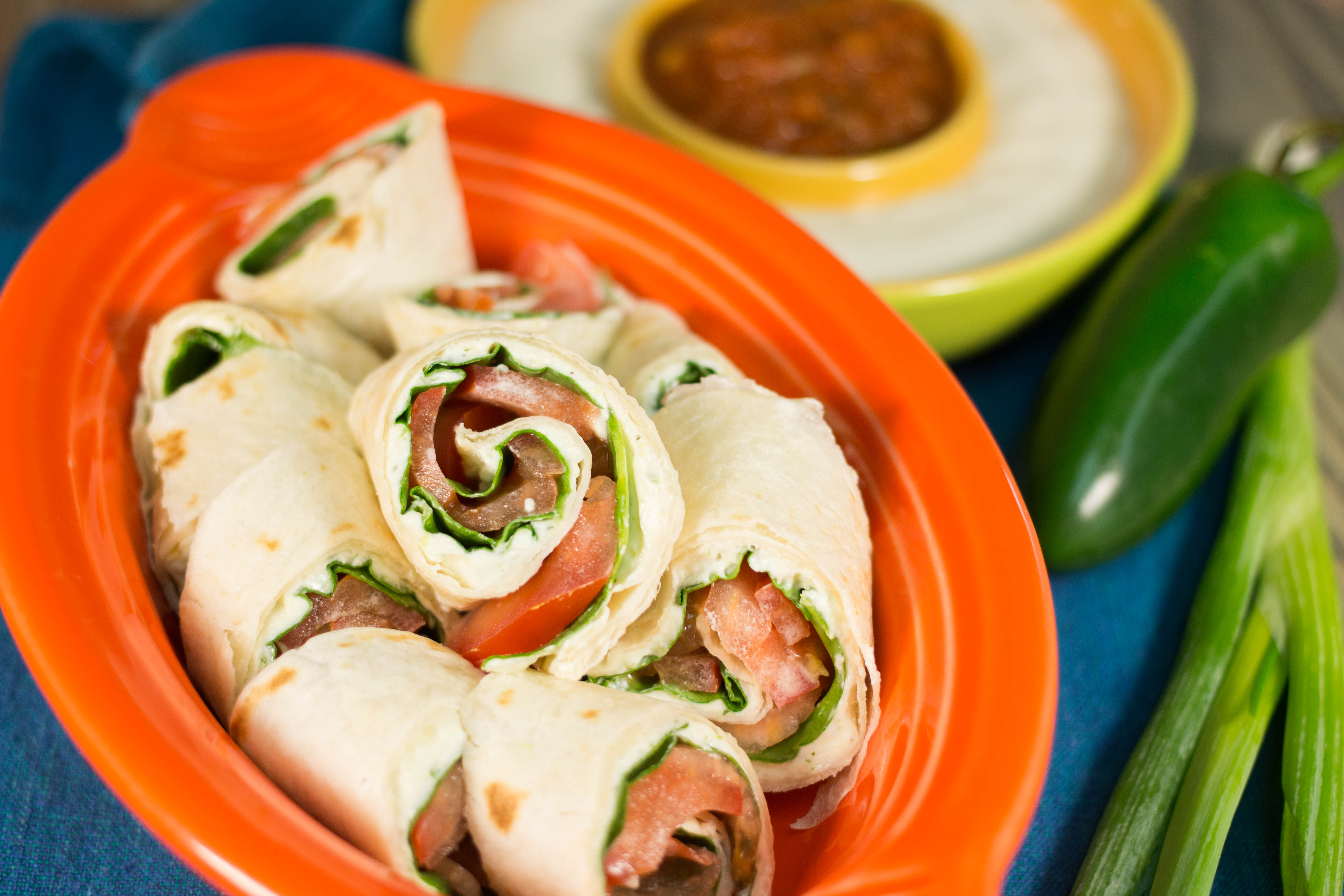 Appetizers For Potluck  Party Tortilla Pinwheels Appetizer Recipe More Finger