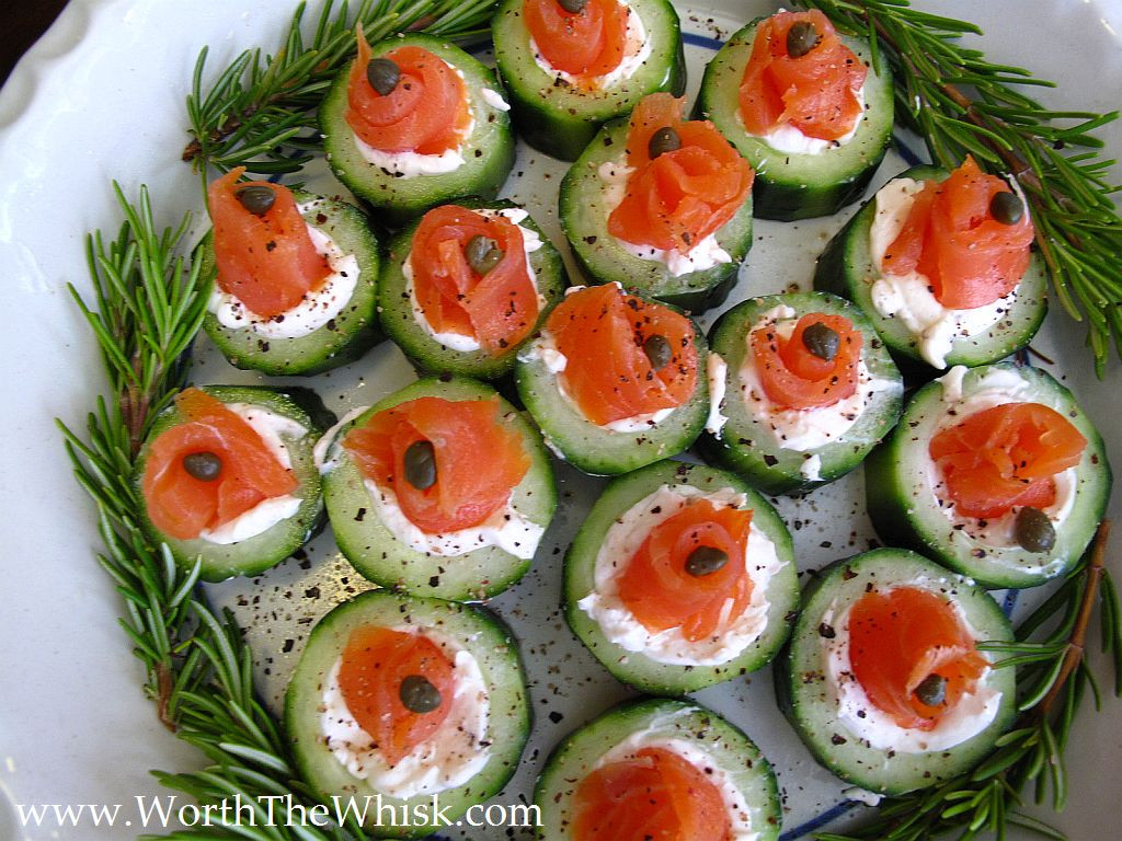 Appetizers With Cream Cheese  Cucumber Cream Cheese and Lox a Foolproof Appetizer