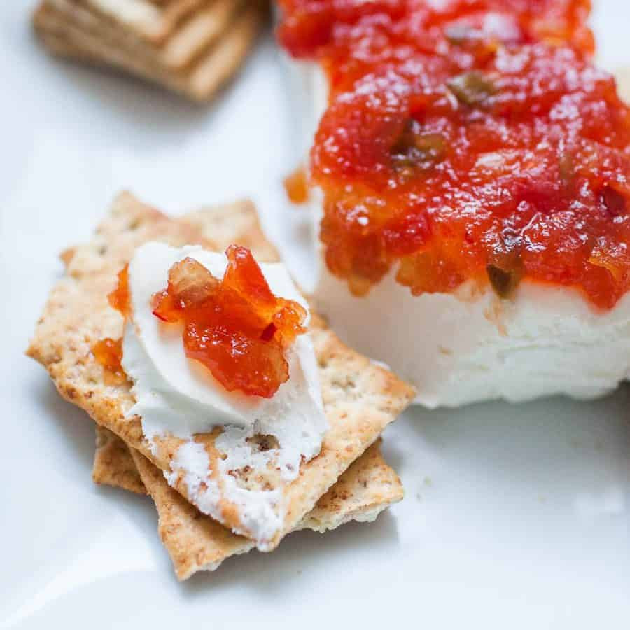 Appetizers With Cream Cheese  Pepper Jelly Cream Cheese Appetizer