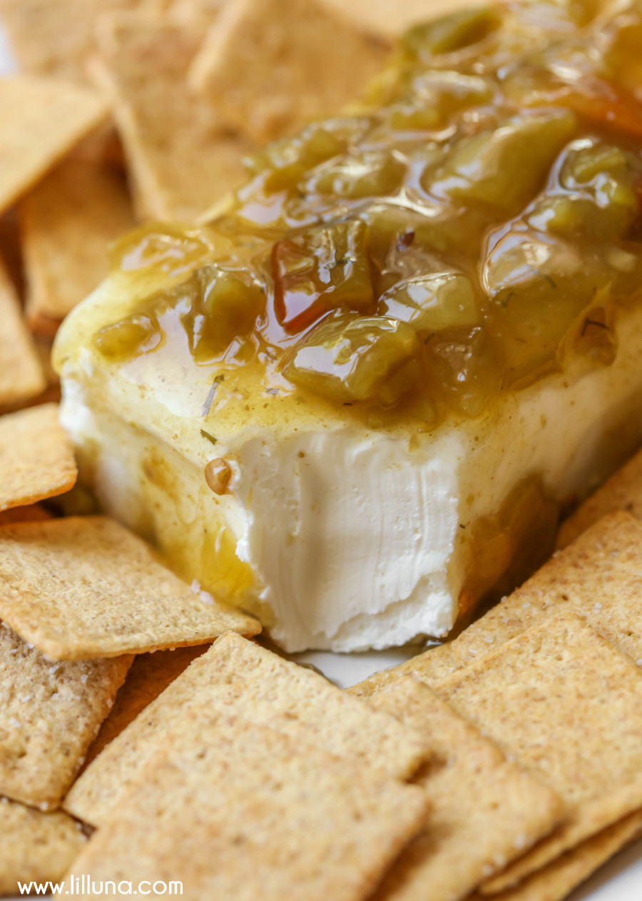 Appetizers With Cream Cheese  Green Chili Cream Cheese Dip Lil Luna