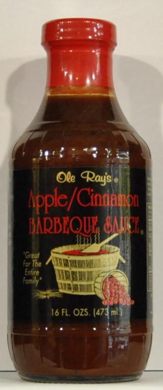 Apple Bbq Sauce  Ole Rays Apple Cinnamon BBQ Sauce