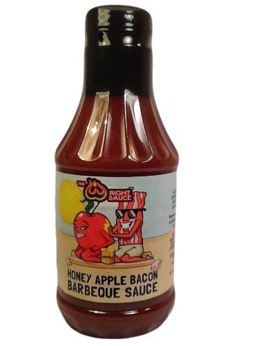 Apple Bbq Sauce  Sweet Honey Apple Bacon BBQ Barbecue Sauce 16 oz bottle