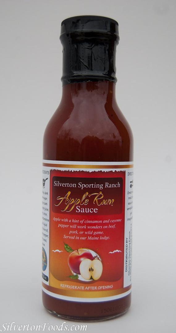 Apple Bbq Sauce  Apple Rum BBQ Sauce by SilvertonFoodsBBQ on Etsy