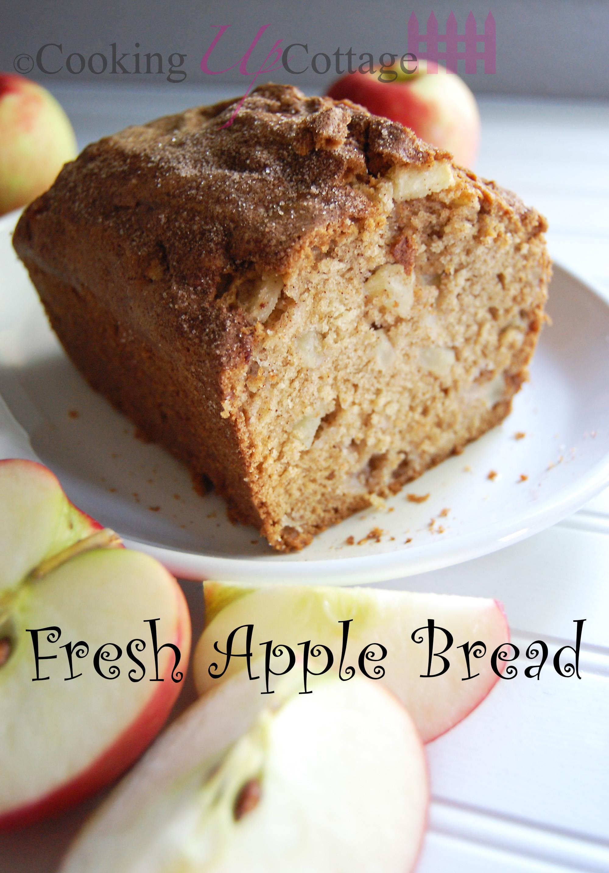 Apple Bread Recipe  apple bread recipes with fresh apples