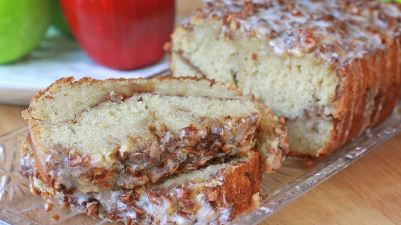 Apple Bread Recipe  Easy Apple Fritter Bread Recipe