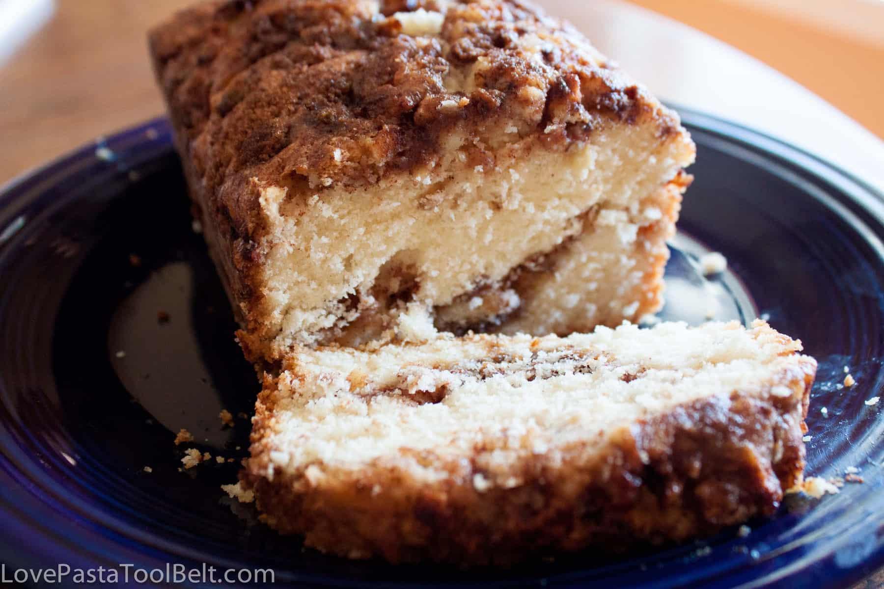 Apple Bread Recipe  Apple Cinnamon Bread Love Pasta and a Tool Belt