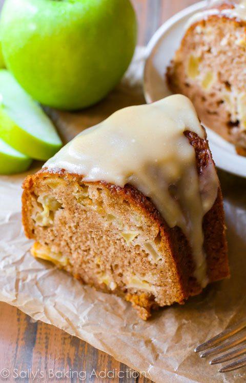 Apple Bundt Cake  Glazed Apple Bundt Cake Sallys Baking Addiction