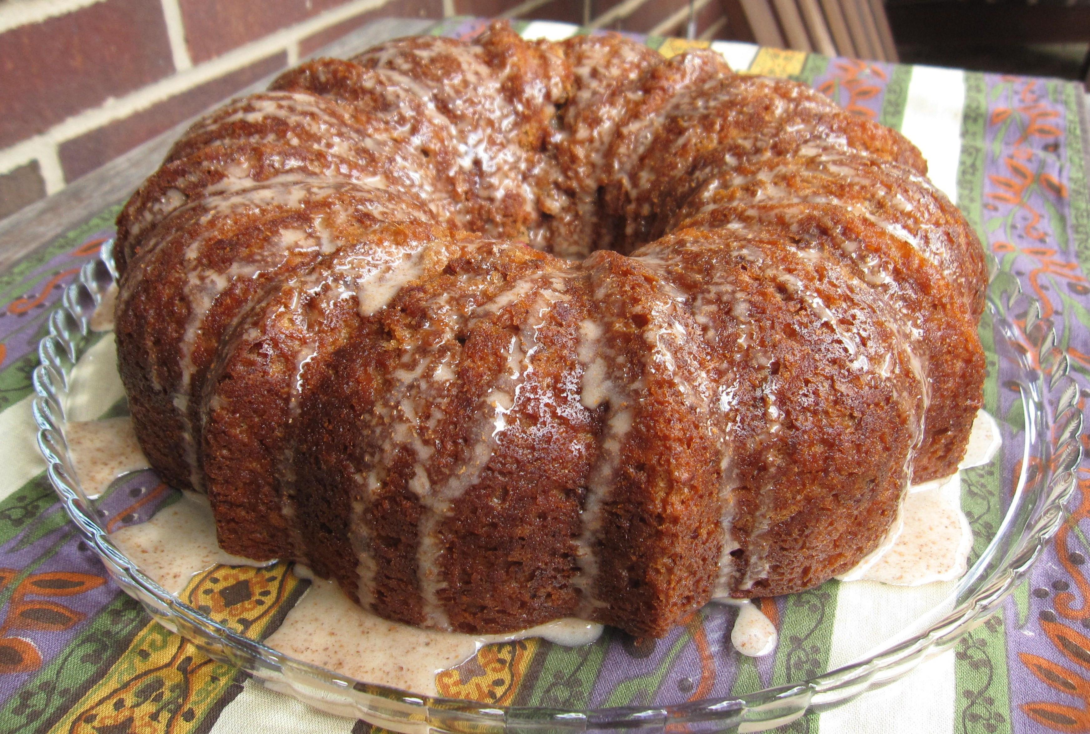 Apple Bundt Cake  TWD Double Apple Bundt Cake