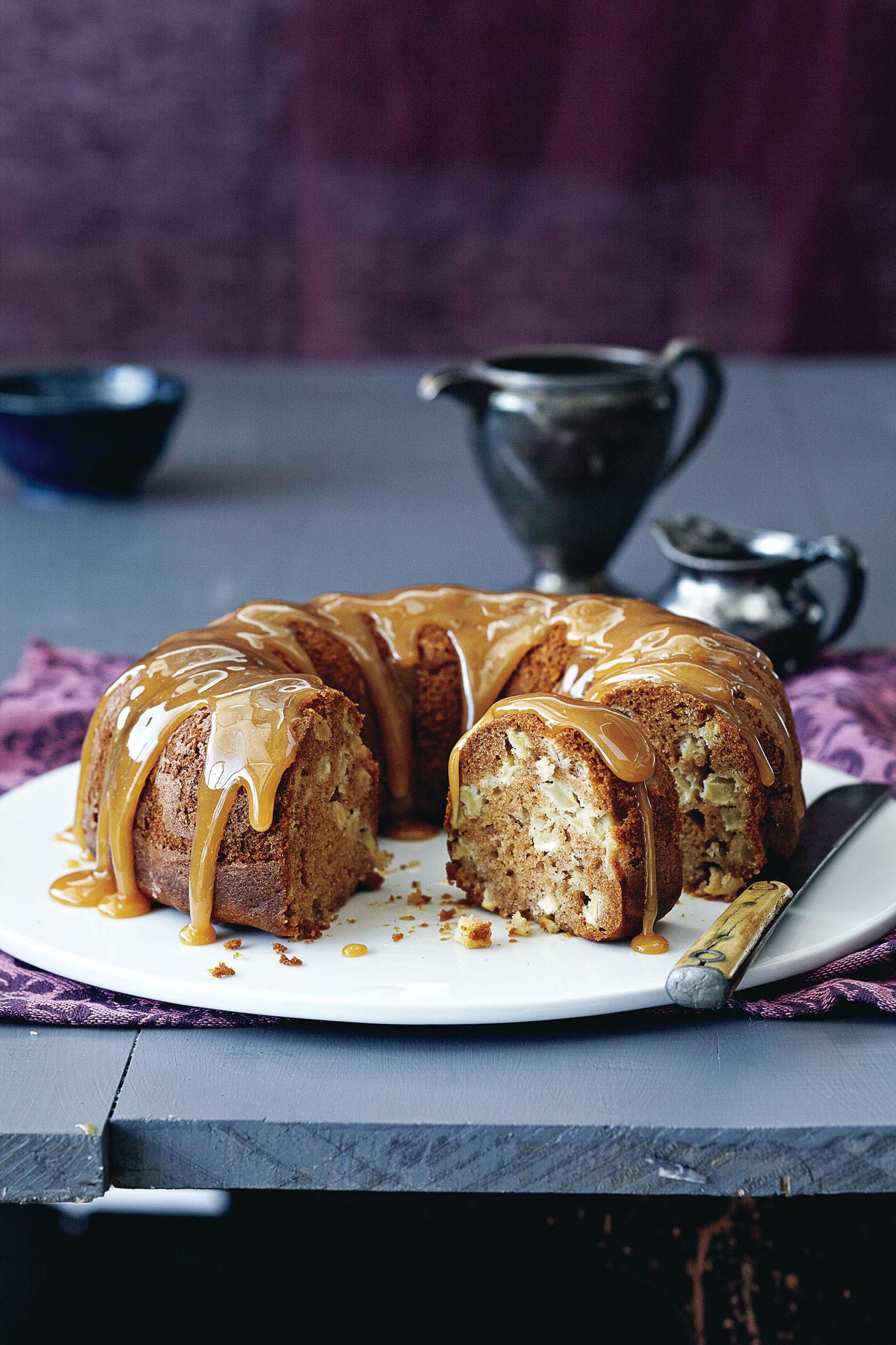 Apple Bundt Cake  Honey Caramel Apple Bundt Cake