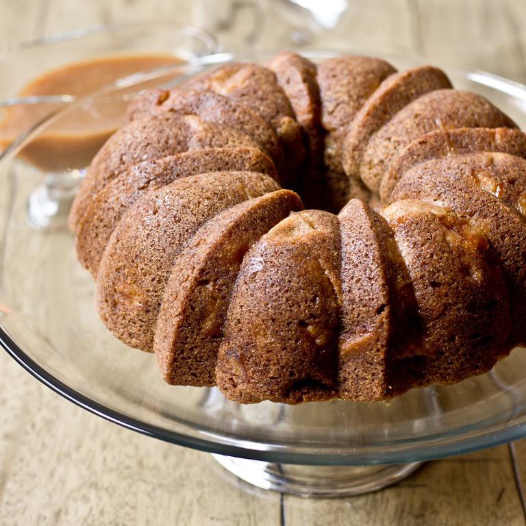 Apple Bundt Cake  Vanilla Bean Apple Bundt Cake