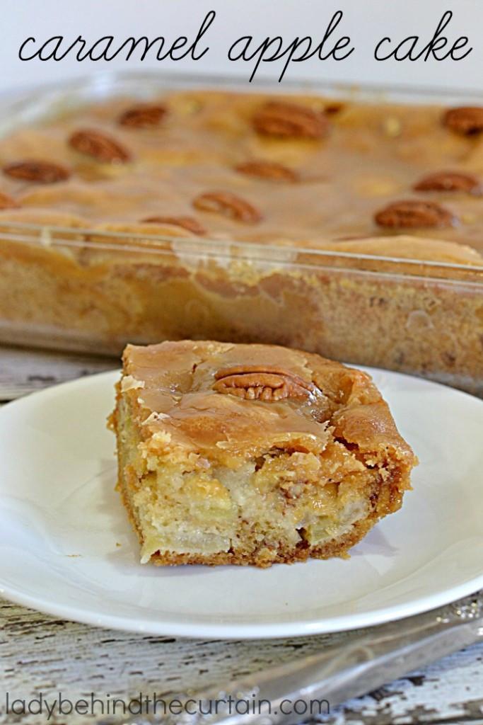Apple Cake Easy  Caramel Apple Cake