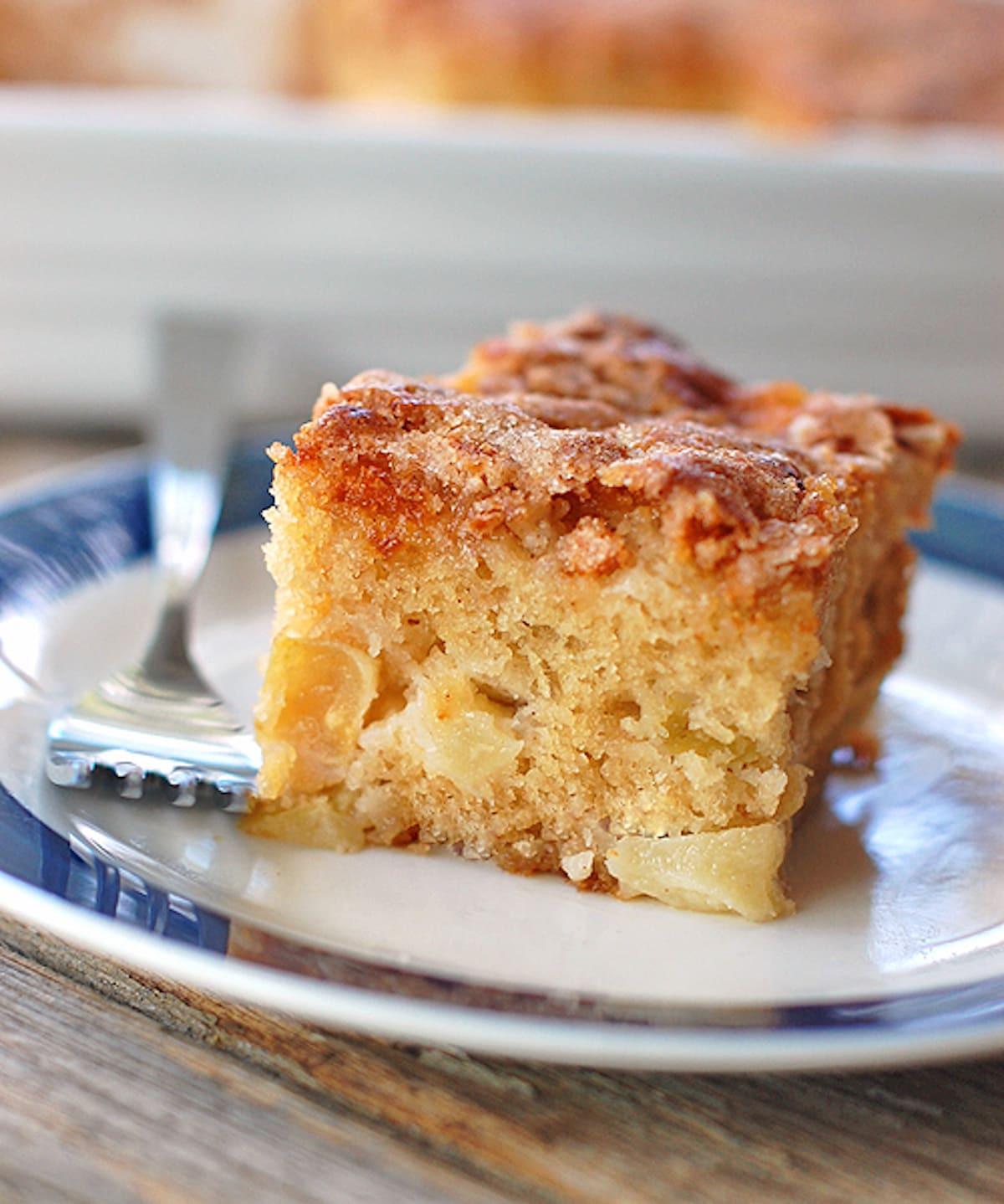 Apple Cake Easy  simple apple cake recipe from scratch