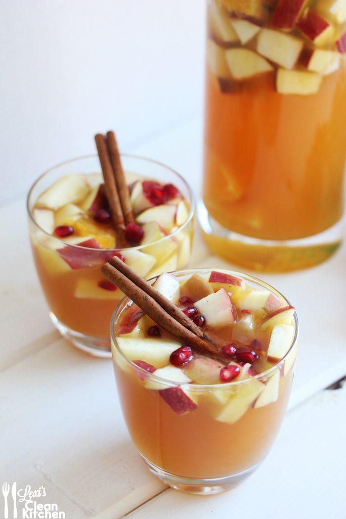 Apple Cider Drink  Apple Cider Sangria Recipe