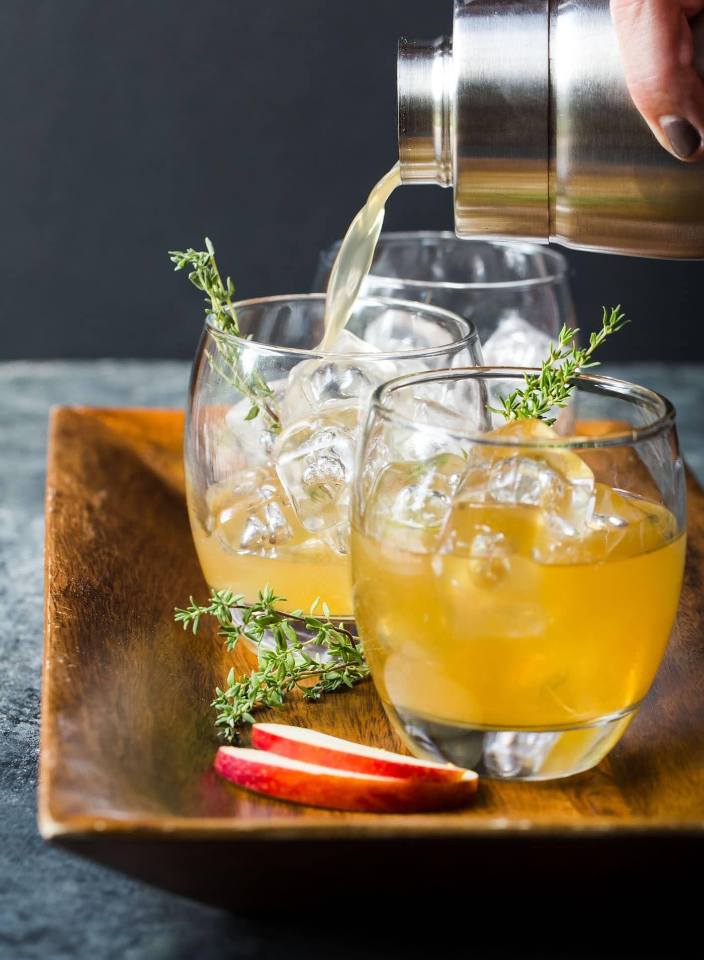 Apple Cider Drink  Bourbon Apple Cider Cocktails