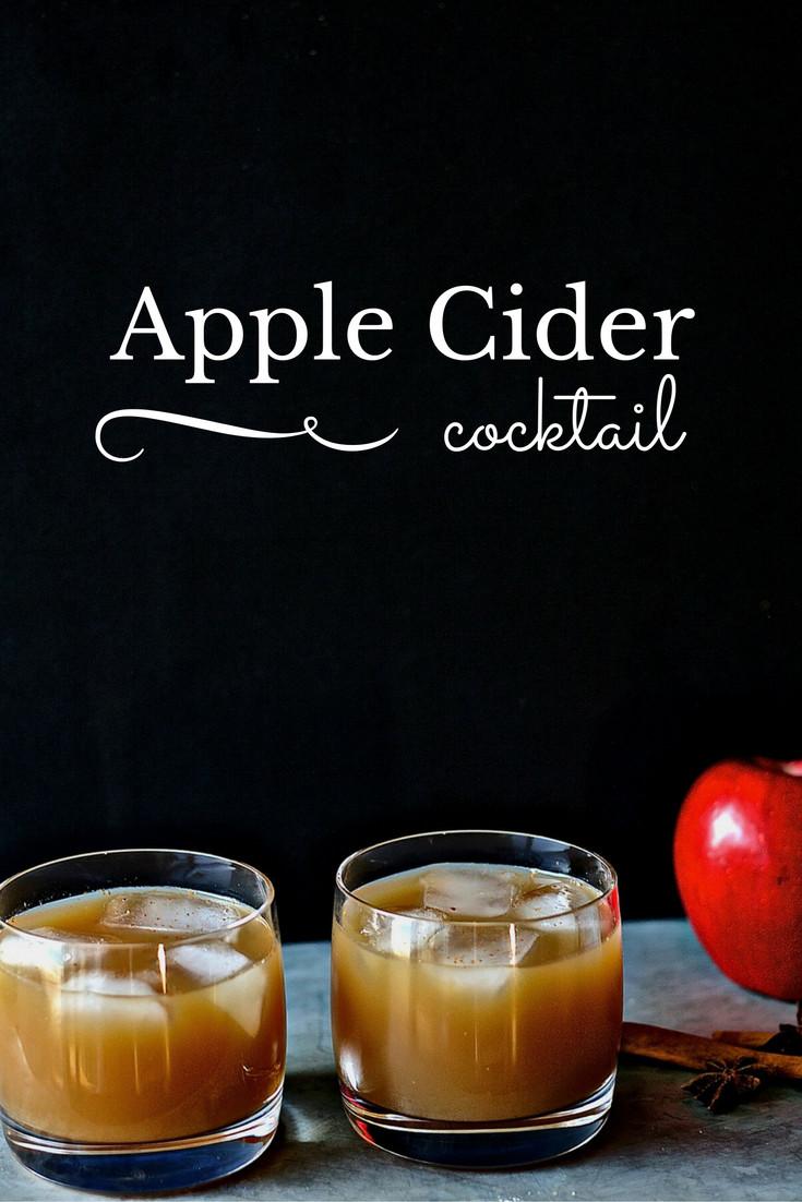 Apple Cider Drink  Apple Cider Cocktail Recipe
