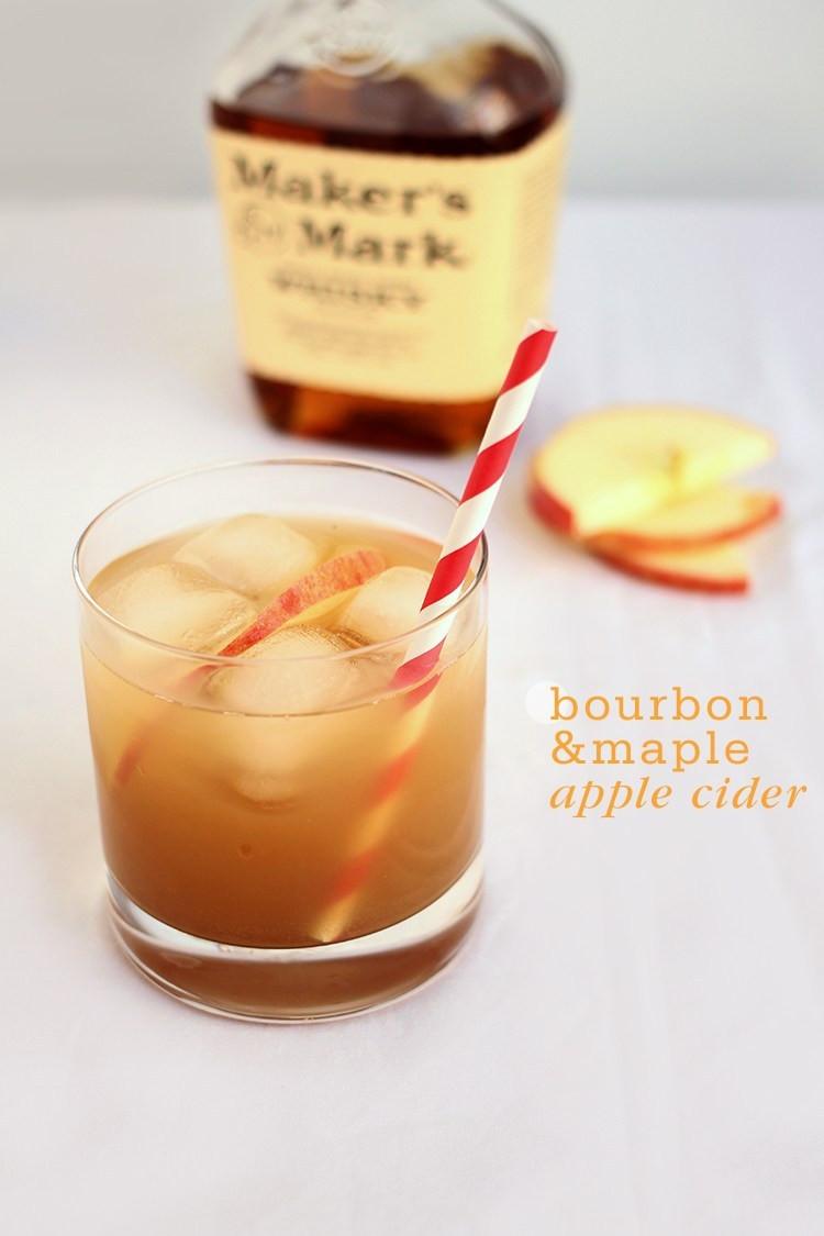 Apple Cider Drink  Bourbon Maple Apple Cider