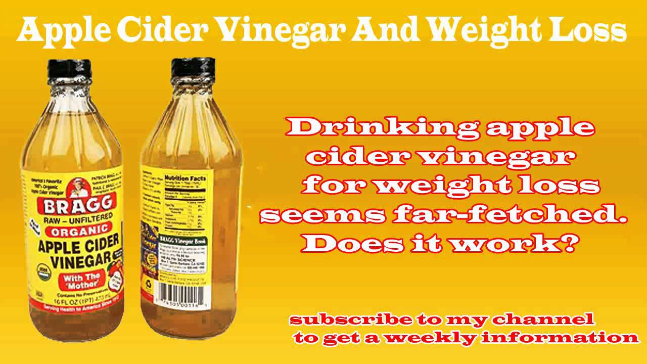 Apple Cider Vinegar And Weight Loss  how to use apple cider vinegar for weight loss
