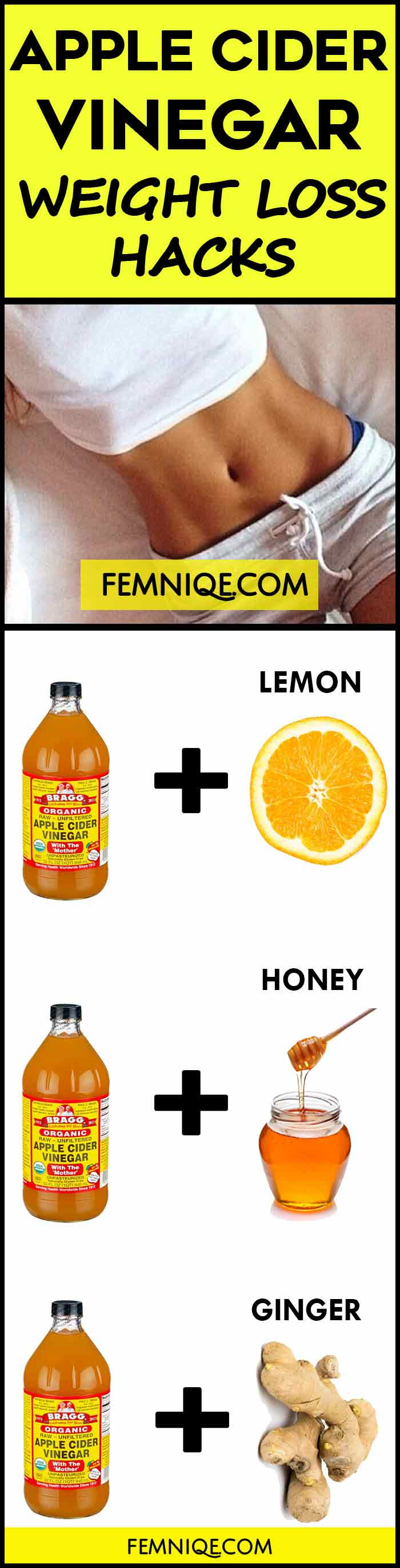 Apple Cider Vinegar And Weight Loss  How To Use Apple Cider Vinegar for Weight Loss Femniqe