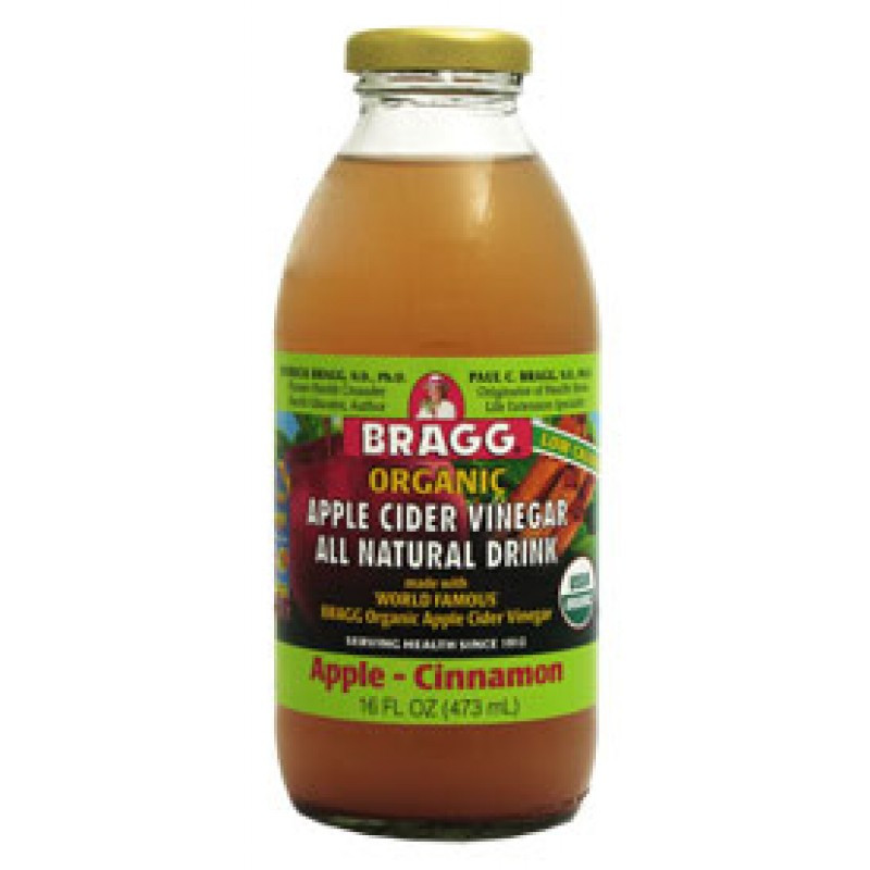 Apple Cider Vinegar Drink  Bragg Cinnamon Apple Cider Vinegar Drink 473ml