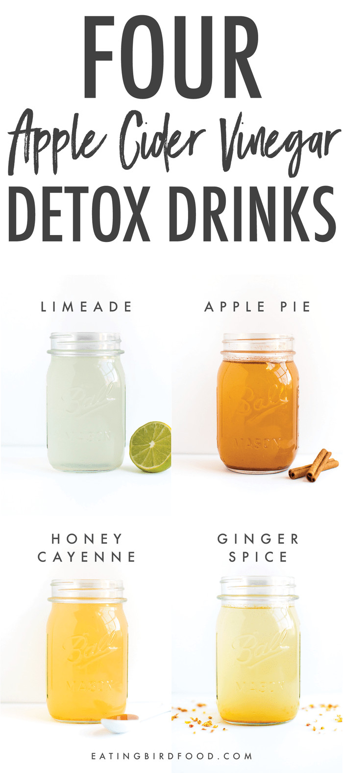 Apple Cider Vinegar Drink  Apple Cider Vinegar Detox Drinks Eating Bird Food