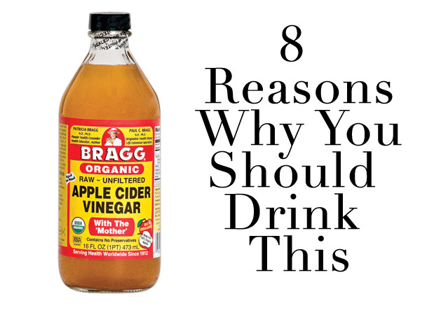 Apple Cider Vinegar Drink  8 Reasons To Drink More Apple Cider Vinegar Health