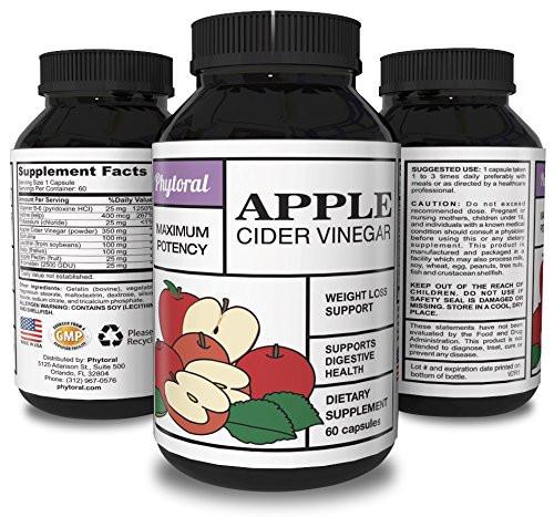 Apple Cider Vinegar Pills Weight Loss  Apple Cider Vinegar Capsules Pure Weight Loss Supplement