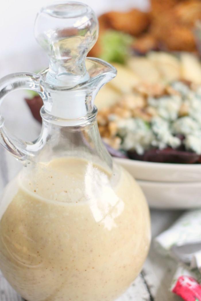 Apple Cider Vinegar Salad Dressing  Mama Loves Food Creamy Apple Cider Vinaigrette Dressing