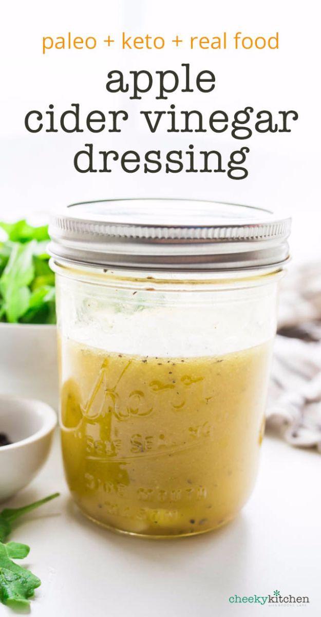 Apple Cider Vinegar Salad Dressing  35 Dressing Recipes That Will Make You Rethink Salad