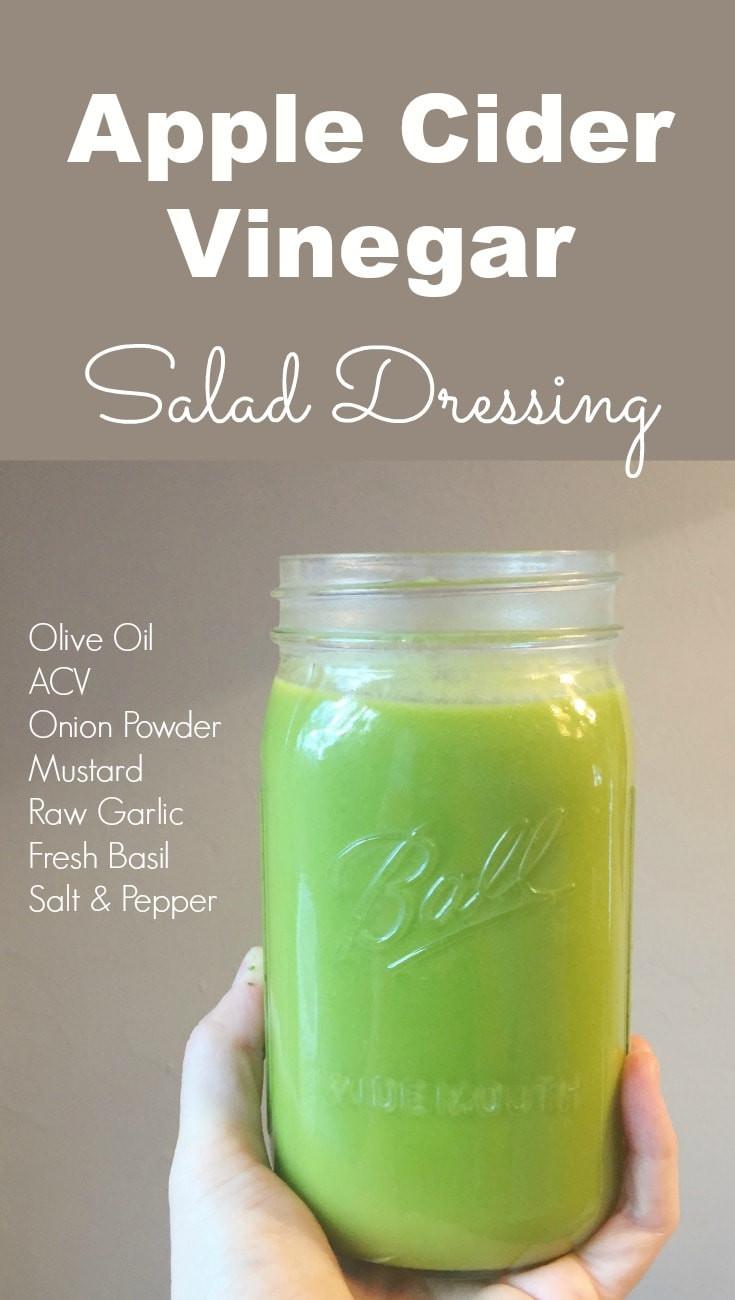 Apple Cider Vinegar Salad Dressing  How to Make Apple Cider Vinegar Salad Dressing at Home