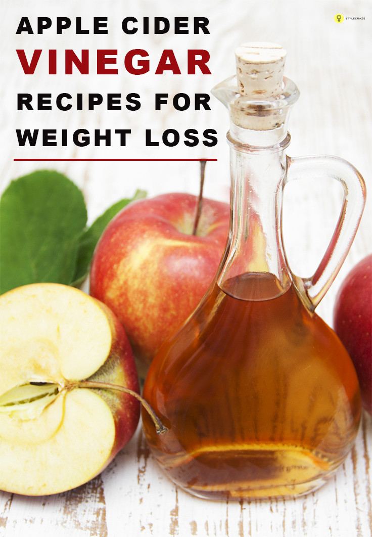 Apple Cider Vinegar Weight Loss Recipe  Apple cider vinegar for weight loss good health