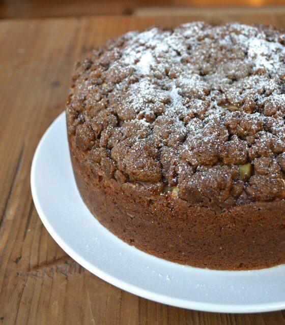 Apple Cinnamon Coffee Cake  Apple Cinnamon Coffee Cake The Woks of Life