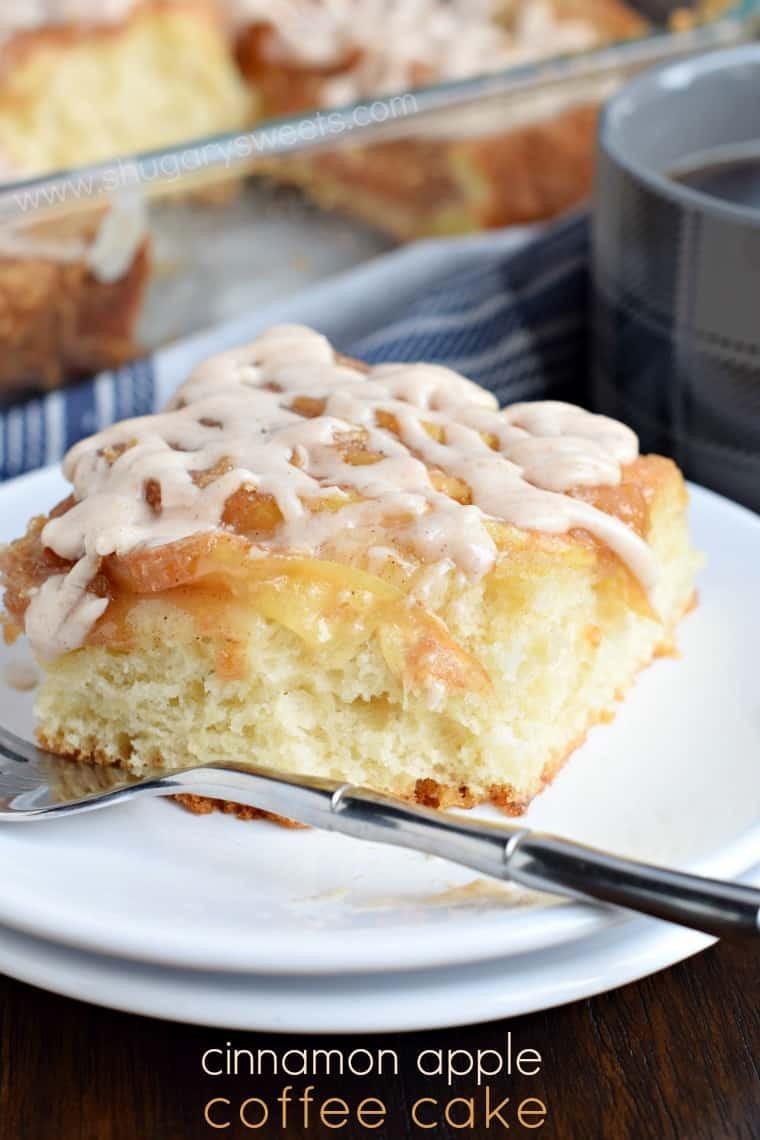 Apple Cinnamon Coffee Cake  Cinnamon Apple Coffee Cake Shugary Sweets