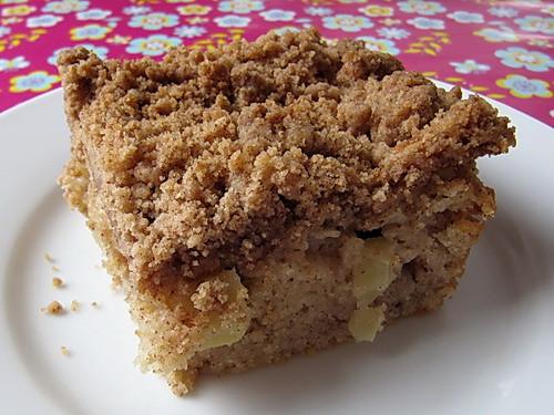 Apple Cinnamon Coffee Cake  Moist Apple Cinnamon Coffee Cake