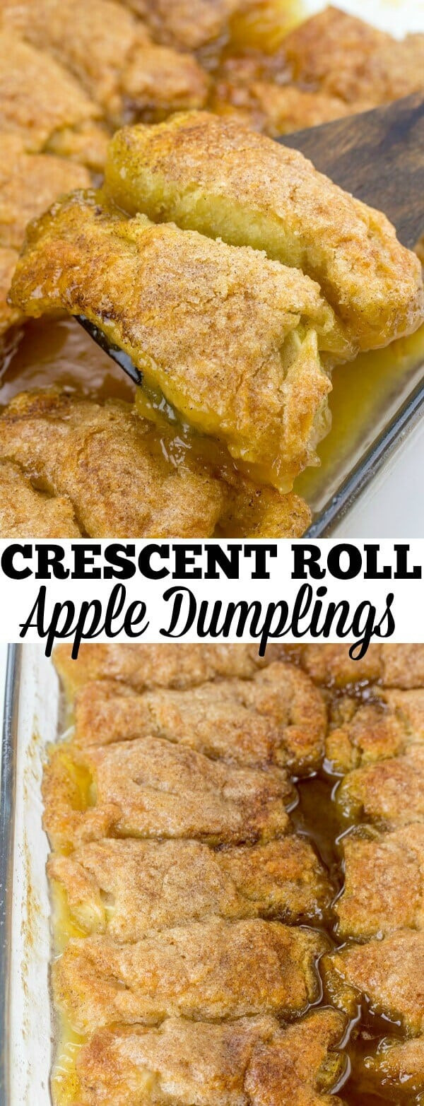 Apple Crescent Roll Dessert  Crescent Roll Apple Dumplings A Favorite Easy Apple