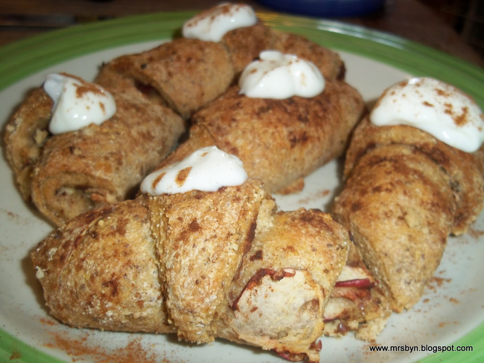 Apple Crescent Roll Dessert  365 Days of Clean Eating Clean Eating 30 Dessert Apple