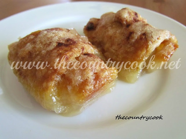 Apple Crescent Roll Dessert  The Country Cook Easy Apple Dumplins